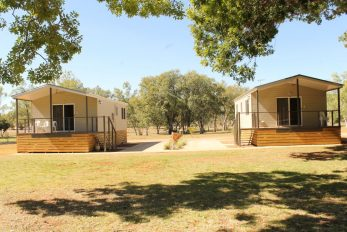 Katherine NT, 2 x Camellia (Amended) Design Cabins