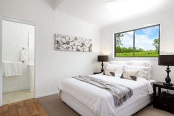 Gympie QLD Display, Kennedia (Amended) Design Cabin   Bedroom
